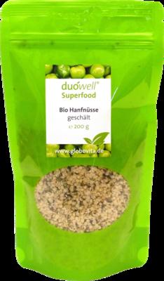 DUOWELL Superfood Bio Hanfnüsse geschält