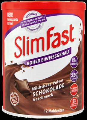 SLIM FAST Pulver Schokolade