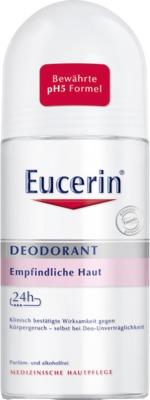 Eucerin Deodorant Empfindliche Haut 24h Roll-on