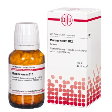MARUM VERUM D 12 Tabletten