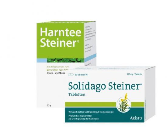 Salidago Steiner + Harntee Steiner Set