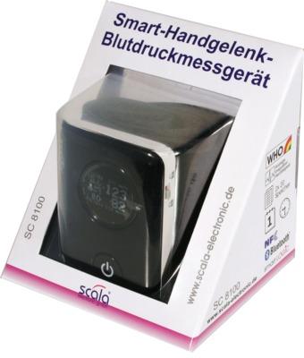 SMART Handgelenk-Blutdruckmessgerät SC8100