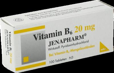 VITAMIN B6 20 mg Jenapharm Tabletten