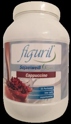 FIGURIL low carb Eiweiß vegan Cappucino Pulver