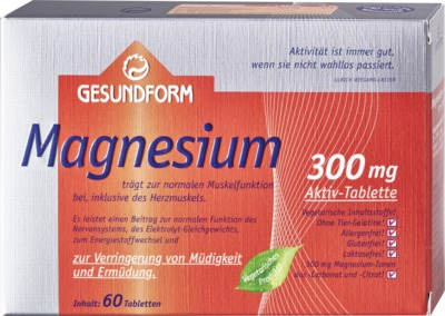 Gesundform Magnesium 300 Tabletten
