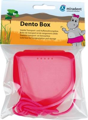 MIRADENT Zahnspangenbox Dento Box I pink