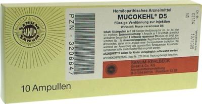MUCOKEHL Ampullen D 5