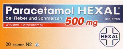Paracetamol HEXAL Tabletten