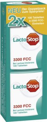 LactoStop 3000 FCC Tabletten Klickspender Doppelpack