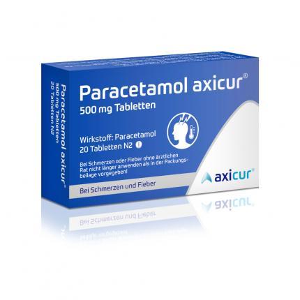 Paracetamol axicur