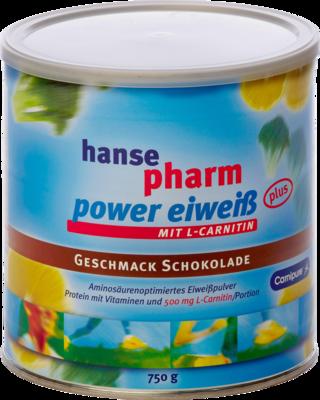 HANSEPHARM Power Eiweiß plus Schoko Pulver