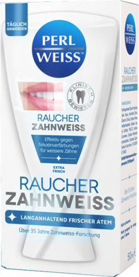 PERLWEISS Raucher Zahnweiß