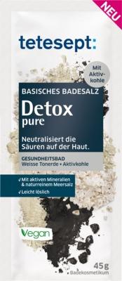 TETESEPT basisches Badesalz Detox pure