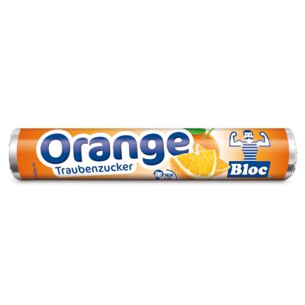 BLOC Traubenzucker Orange Rolle