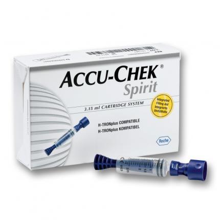 ACCU CHEK Spirit 3,15 ml Ampullen System