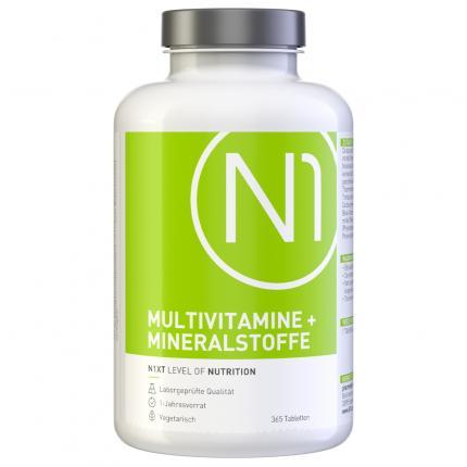 N1 MULTIVITAMINE + MINERALSTOFFE