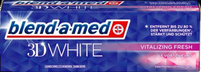 BLEND A MED 3D WHITE vitalizing fresh Zahnpasta