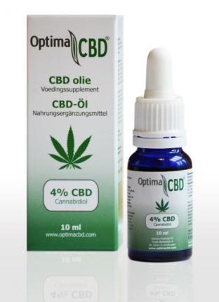 Optima CBD-Öl 4% Cannabidiol