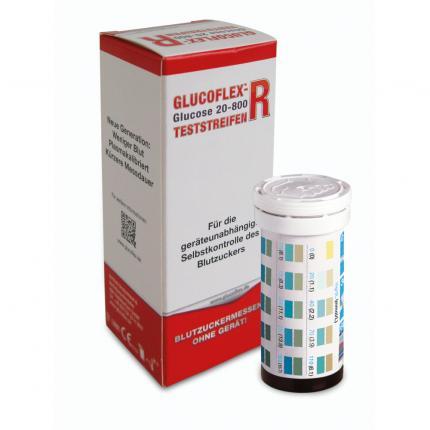 GLUCOFLEX R Glucose Teststreifen