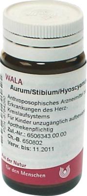 AURUM/STIBIUM/Hyoscyamus Globuli