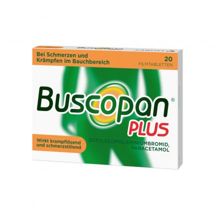 Buscopan PLUS bei Bauchschmerzen