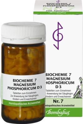 BIOCHEMIE 7 Magnesium phosphoricum D 3 Tabletten