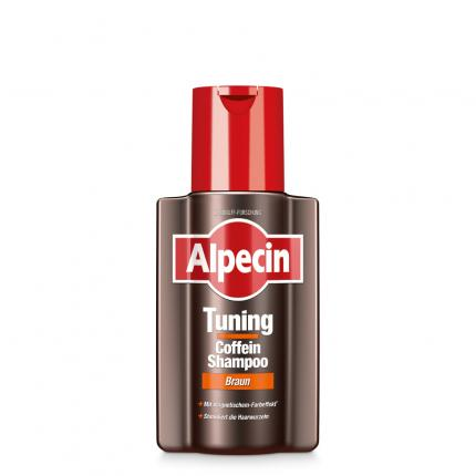 Alpecin Tuning Coffein-shampoo Braun