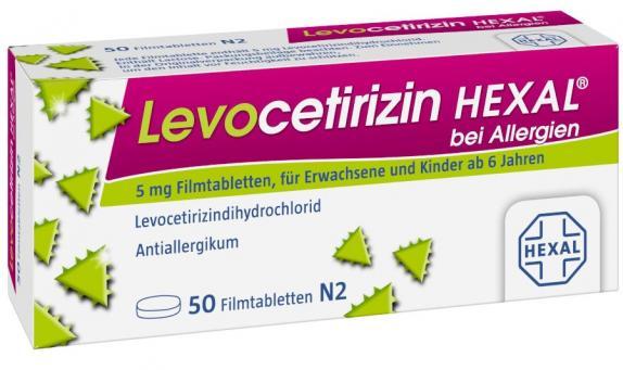 Levocetirizin HEXAL