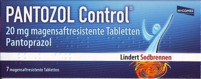 PANTOZOL Control 20mg