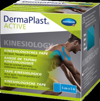 DERMAPLAST Active Kinesiology Tape 5 cmx5 m blau
