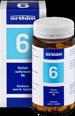 BIOCHEMIE Orthim 6 Kalium sulfuricum D 6 Tabletten