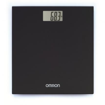 OMRON HN-289 digitale Personenwaage schwarz