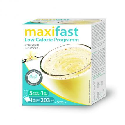 Maxifast Drink Vanille Pulver