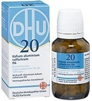BIOCHEMIE DHU 20 Kalium alum.sulfur.D 6 Tabletten