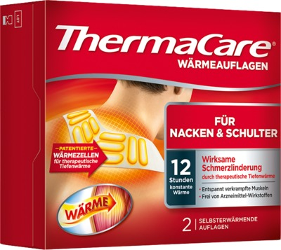 ThermaCare WÄRMEAUFLAGEN FÜR NACKEN & SCHULTER