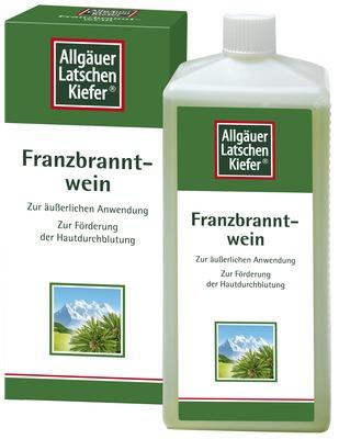 Allgäuer Latschen Kiefer Franzbranntweiin