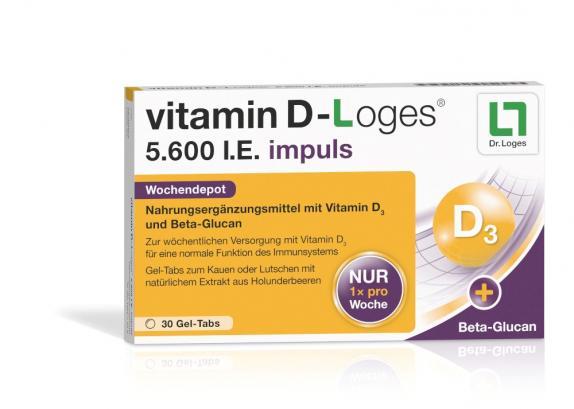 Vitamin D-loges 5.600 I.e. Impuls Kautabletten