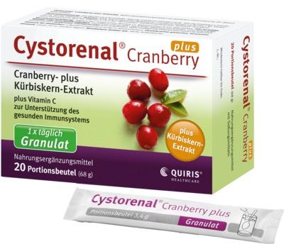 CYSTORENAL Cranberry plus