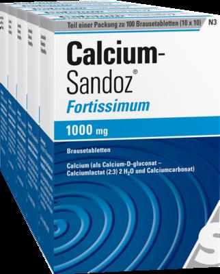 Calcium-Sandoz fortissimum 1000mg