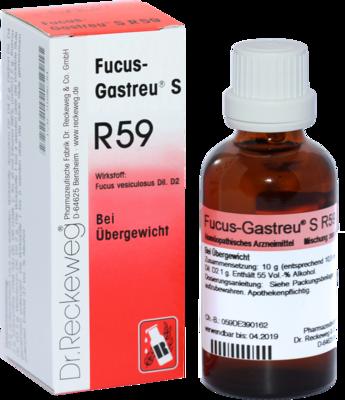 FUCUS GASTREU S R 59 Tropfen zum Einnehmen