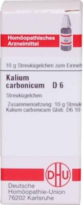KALIUM CARBONICUM D 6 Globuli