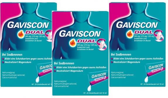 GAVISCON DUAL Beutel 3er-Set