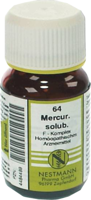 MERCURIUS SOLUBILIS F Komplex Nr.64 Tabletten