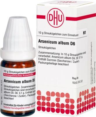 ARSENICUM ALBUM D 6 Globuli