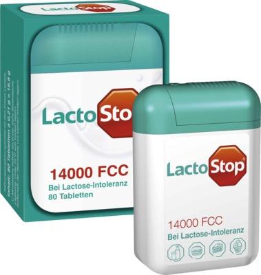 LactoStop 14000 FCC Tabletten Spender