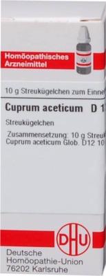 CUPRUM ACETICUM D 12 Globuli