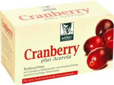 CRANBERRY ACEROLA Baders Filterbeutel