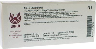 APIS/LEVISTICUM I Ampullen