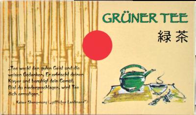 GRÜNER TEE Filterbeutel