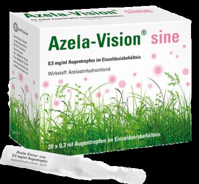 AZELA-Vision sine 0,5 mg/ml Augentropfen EDO